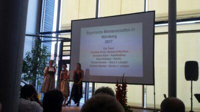 Bayerische Meisterschaft mit Berufsabschluss