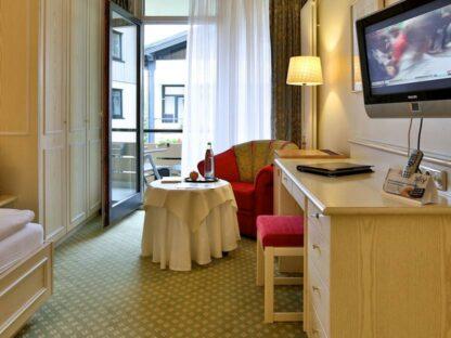 Einzelzimmer Einrichtung Hotel Mürz