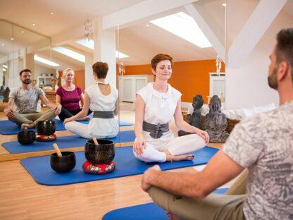Yogakurs im Hotel Mürz